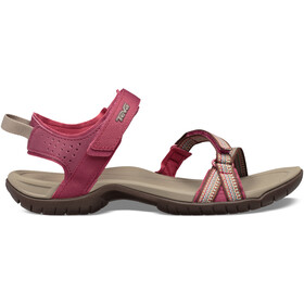 Teva Verra Sandaler Damer, antiguous red plum